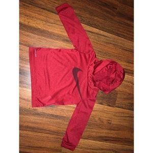 Nike Long Sleeve Hooded Sweatshirt